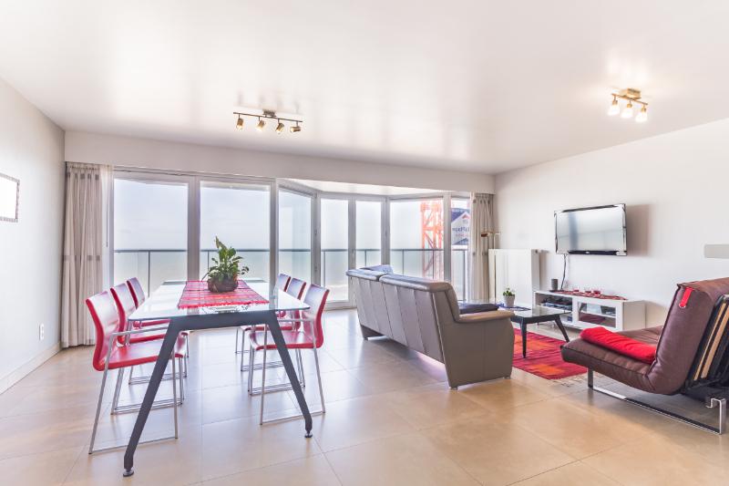 Luxueus 2-kamer appartement met 2 terrassen en zeezicht