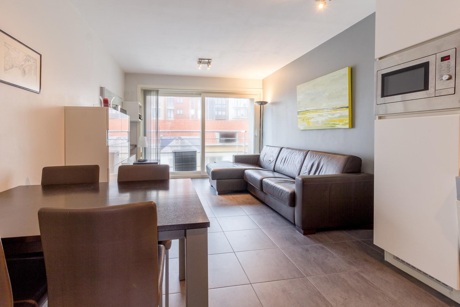 Modern 1-kamer appartement in het hart van Westende-Bad
