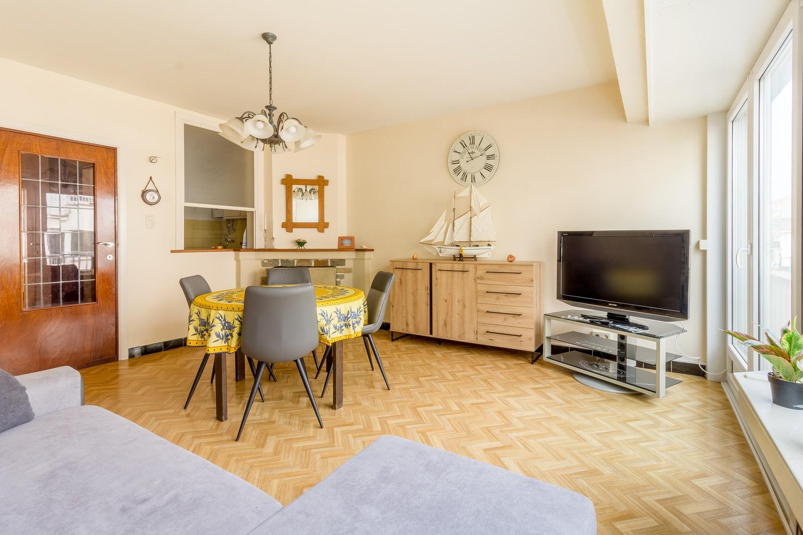 Appartement 1 chambre rafraîchi, dans le centre de Westende-Bad!